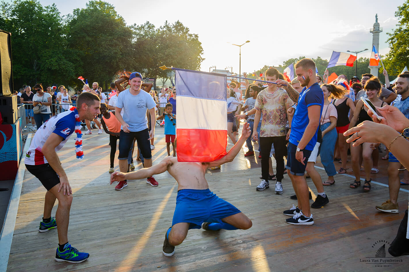 Photographie de reportage de Dansons Sur Les Quais par Laura Van Puymbroeck
