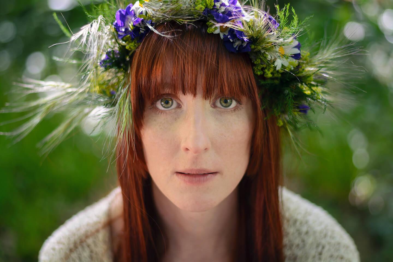 Photographie de portrait de Nylh Vulpes par Laura Van Puymbroeck