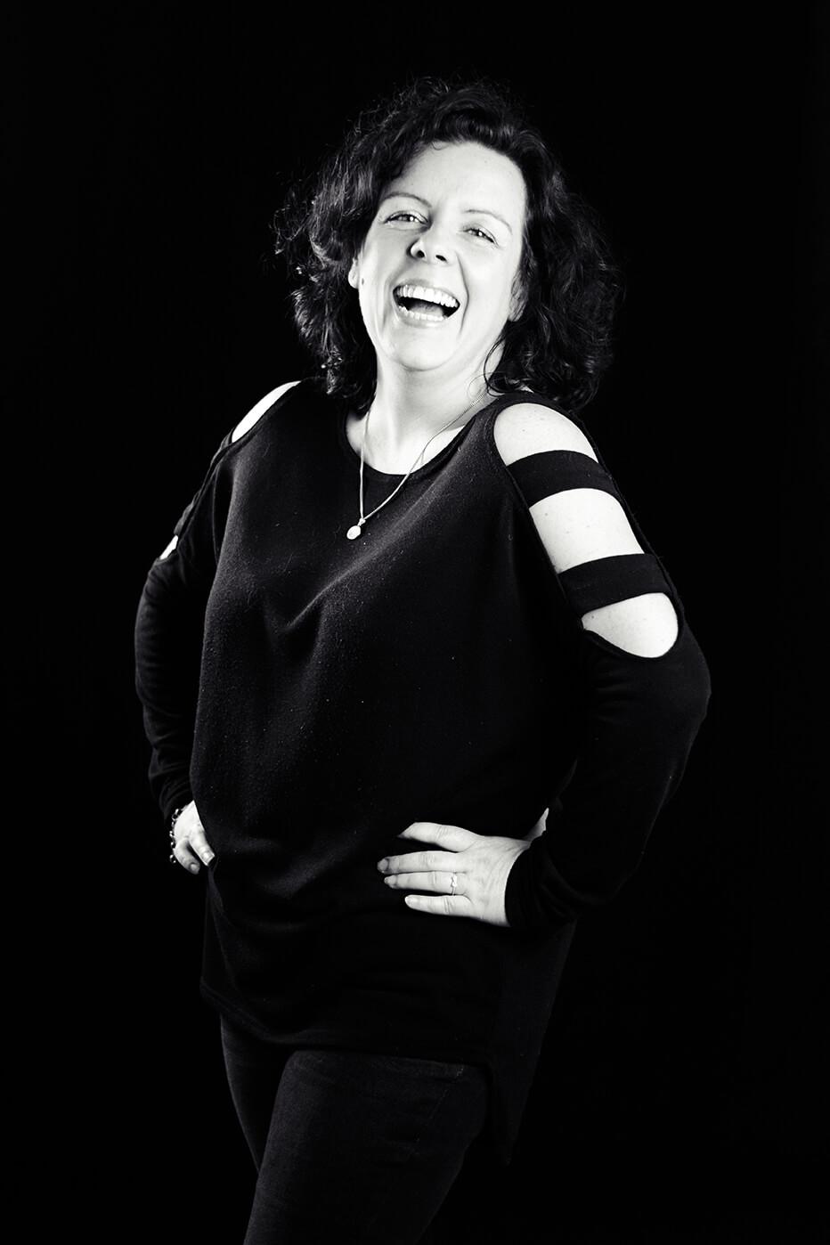 Photographie de portrait de Tika par Laura Van Puymbroeck