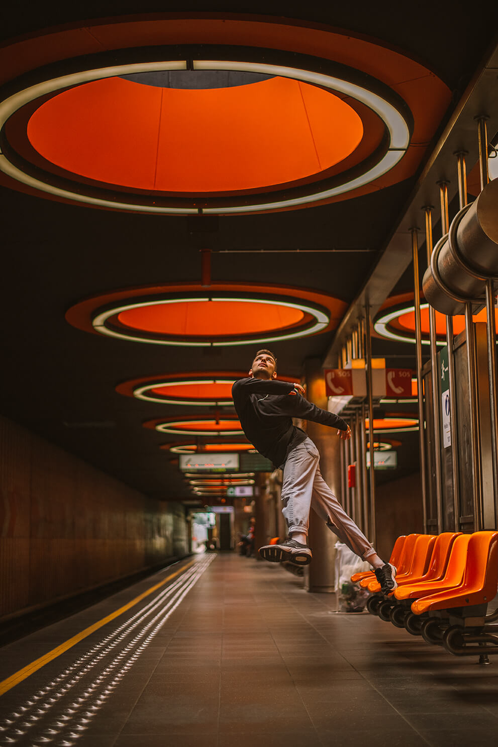 Photographie de danse de Lucas Guicheteau par Laura Van Puymbroeck