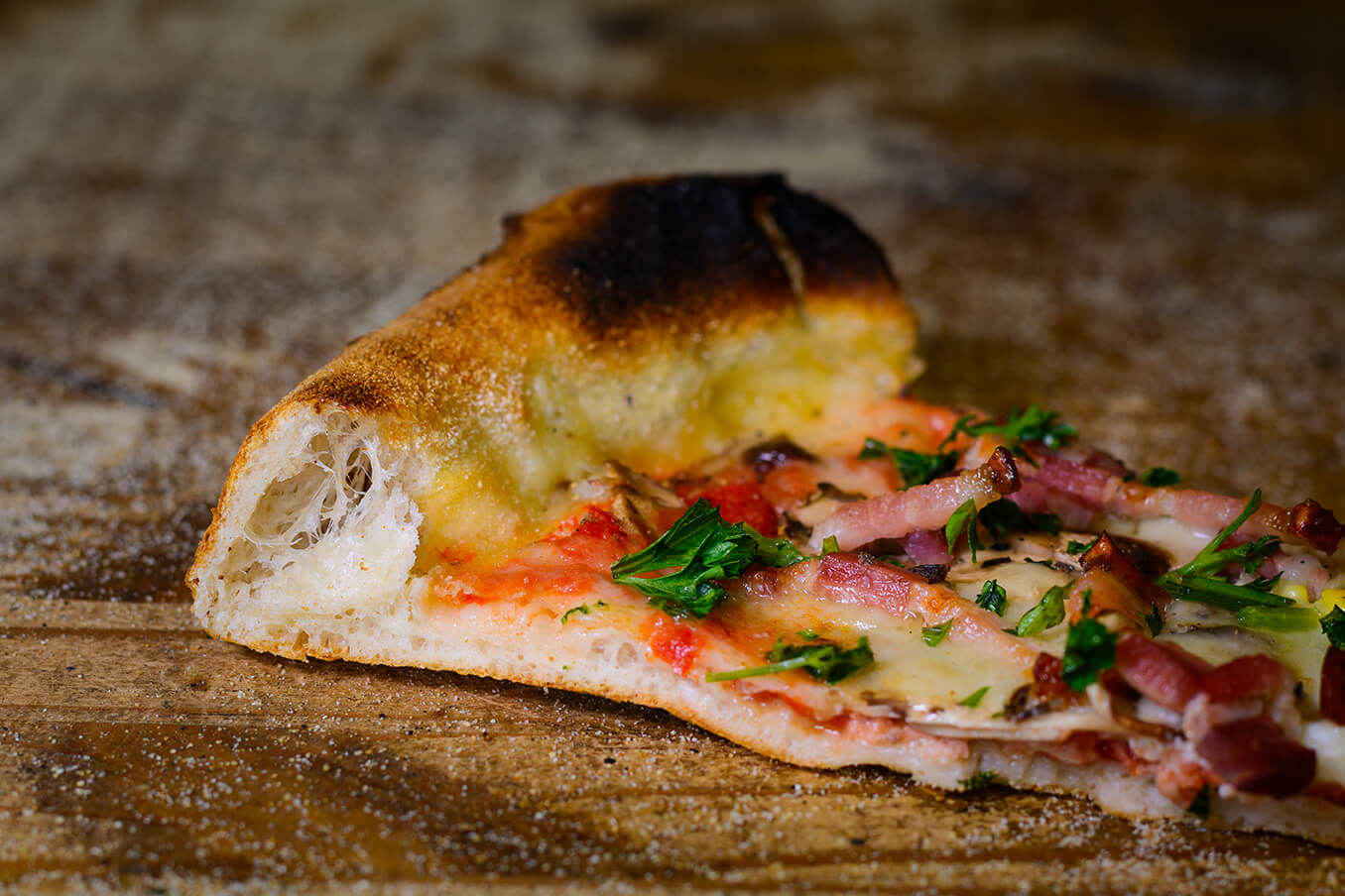 Photographie de produit de Dada Pizza par Laura Van Puymbroeck