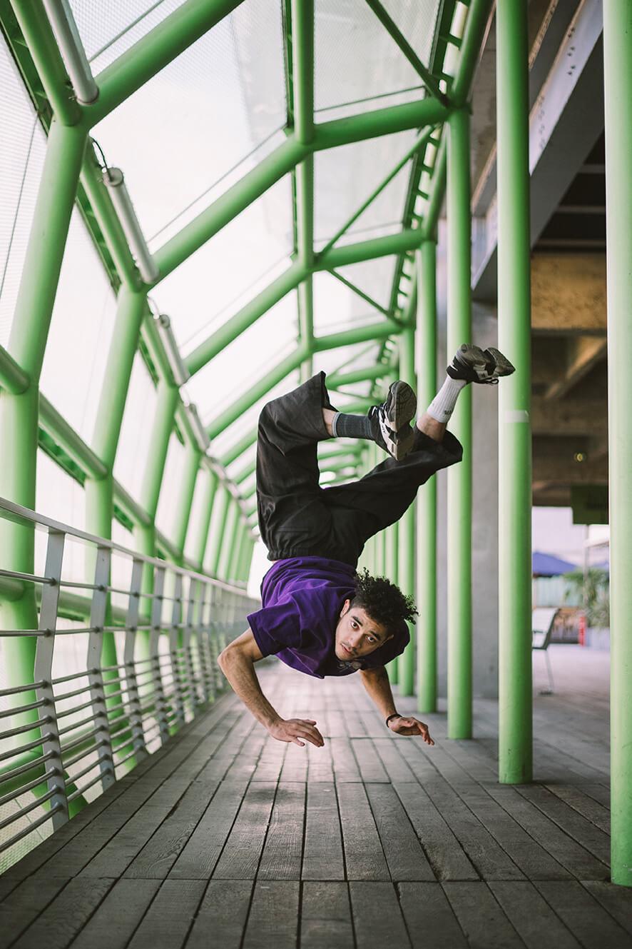 Photographie de danse de Dylan Jolly par Laura Van Puymbroeck