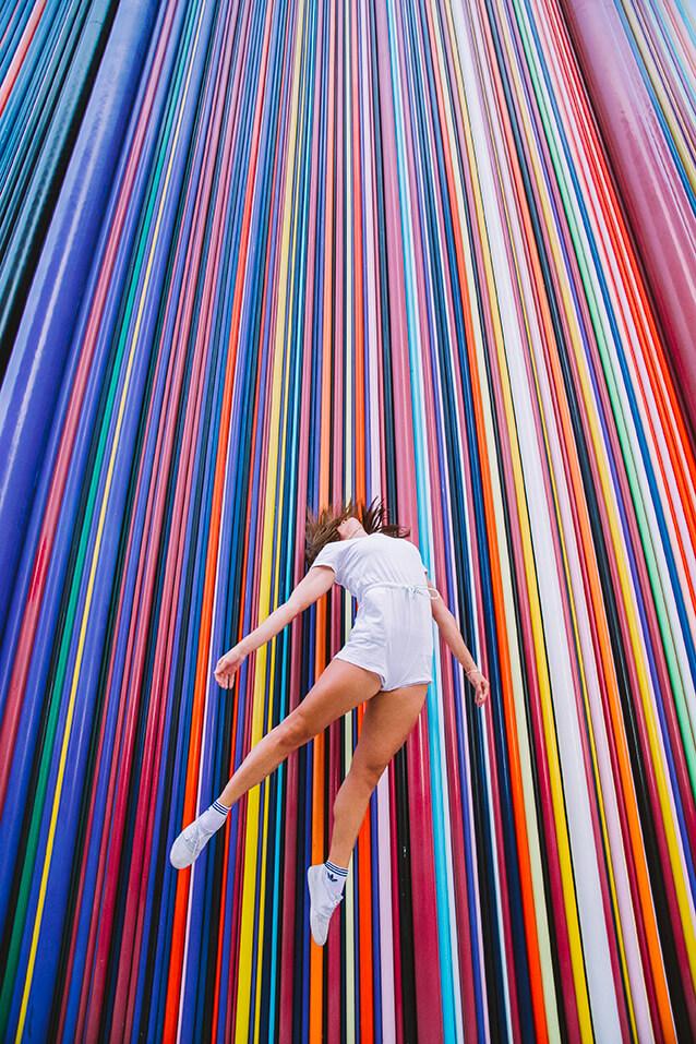 Photographie de danse d'Emmanuelle Estour par Laura Van Puymbroeck