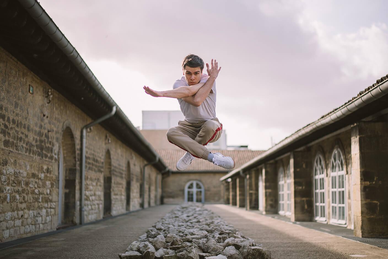 Photographie de danse de François Pincedé par Laura Van Puymbroeck