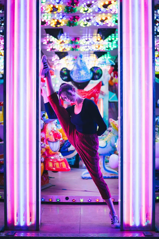 Photographie de danse d'Isabel Urpi Aziliz par Laura Van Puymbroeck