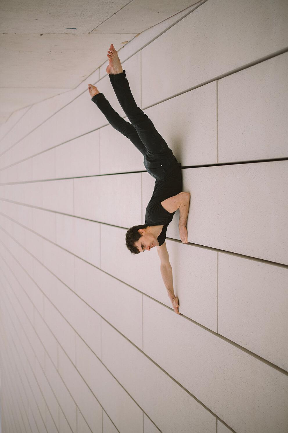 Photographie de danse d'Oskar Eon par Laura Van Puymbroeck
