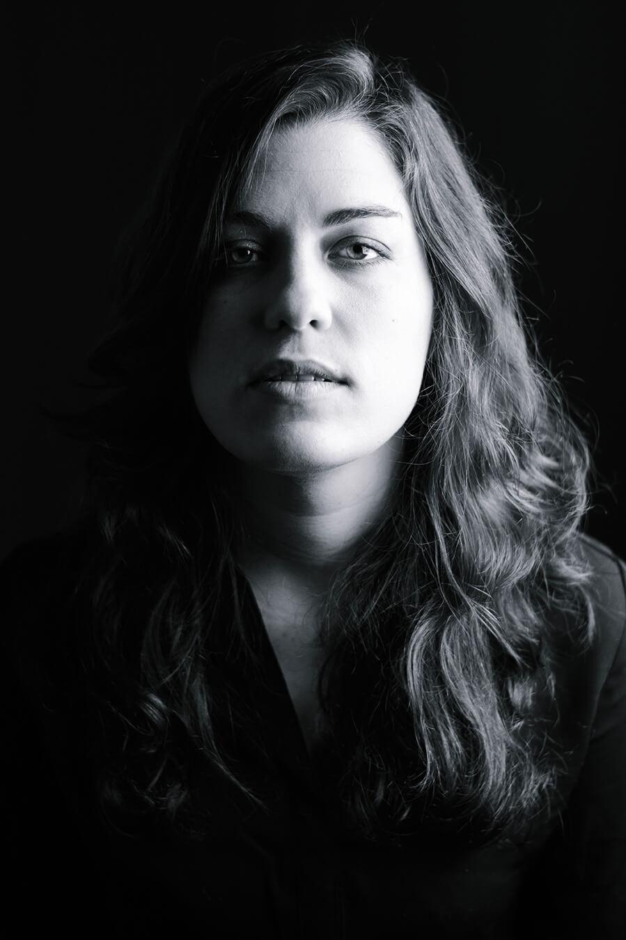 Photographie de portrait de Shirley Jagle par Laura Van Puymbroeck