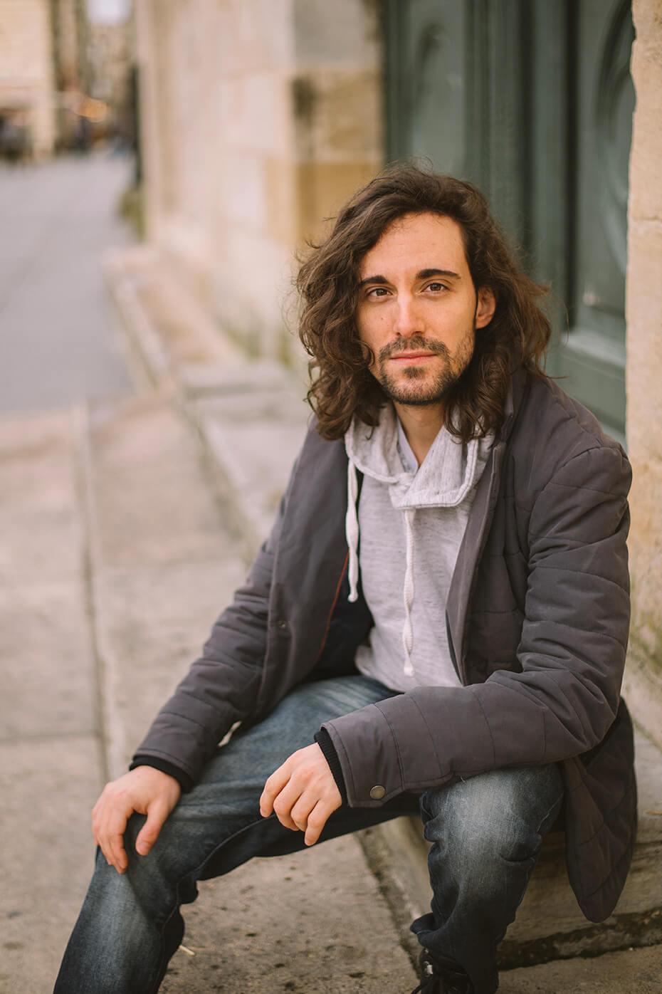 Photographie de portrait de Thibault Flatreau par Laura Van Puymbroeck