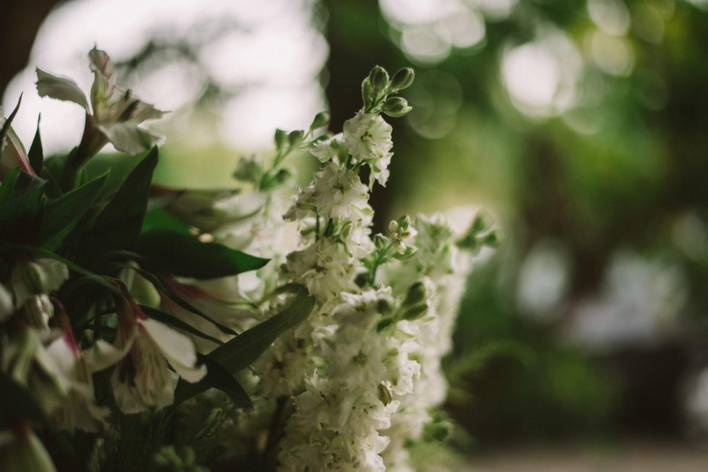 Décoration champêtre pour le mariage vegan de l'équipe Coloc'2'Chefs