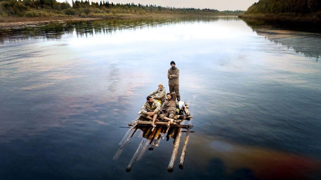 Les 4 aventuriers, dans un paysage magnifique